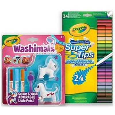Crayola Washimals Bundle