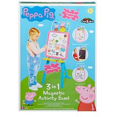 Peppa Pig 3-In-1 Magnetic Activity Easel