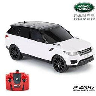 1:24 Scale 2014 Range Rover Sport White 2.4Ghz Remote Control Car