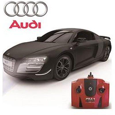 1:24 Scale Audi R8 Gt Limited Edition Black 2.4Ghz Remote Control Car