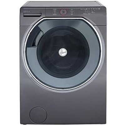 Hoover Axi Awmpd610Lh8R 10Kg Load, 1600 Spin Washing Machine With Ai Technology - Graphite/Black.