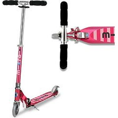 Micro Scooter Micro Sprite &Ndash; Pink Stripe