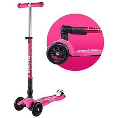 Micro Scooter Foldable Maxi Micro Deluxe &Ndash; Pink