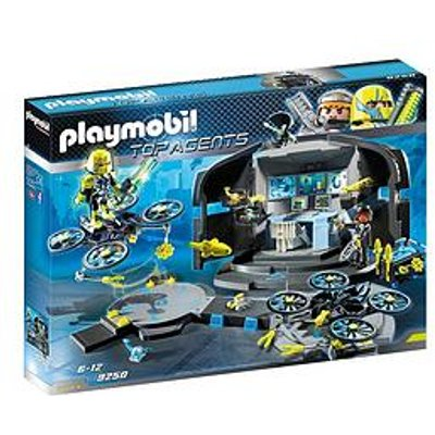 Playmobil 9250 Top Agents Dr. Drone'S Command Base