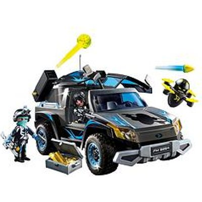 Playmobil 9254 Top Agents Dr. Drone'S Pickup