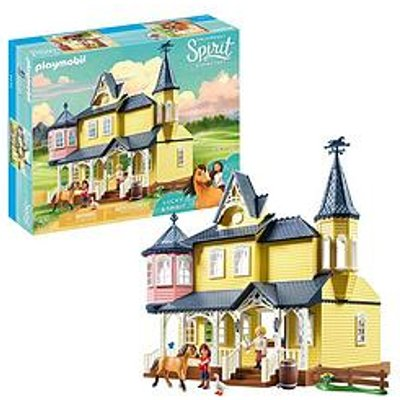 Playmobil Playmobil Dreamworks Spirit 9475 Lucky'S Happy Home