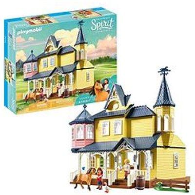 Playmobil Playmobil Dreamworks Spirit 9475 Lucky'S Happy Home