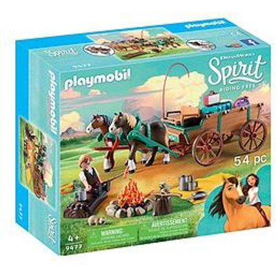 Playmobil Playmobil Dreamworks Spirit 9477 Lucky'S Dad & Wagon