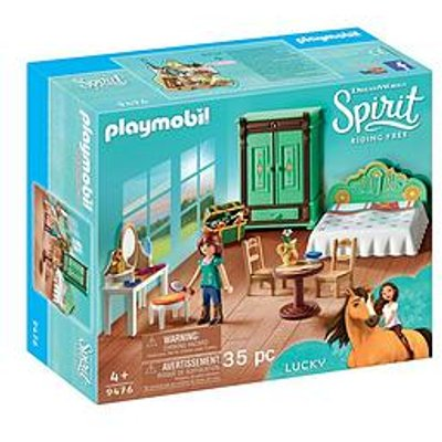 Playmobil Dreamworks Spirit&Copy; 9476 Lucky'S Bedroom