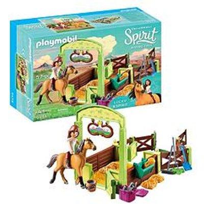 Playmobil Playmobil Dreamworks Spirit 9478 Horse Box 'Lucky & Spirit'