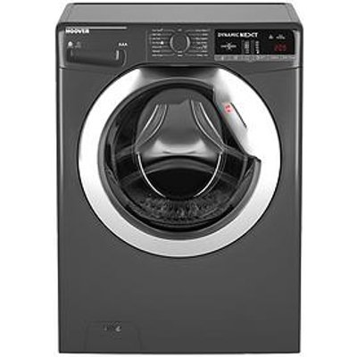 Hoover Dynamic Next Wdxoa485Cr 8Kg Wash, 5Kg Dry, 1400 Spin Washer Dryer With One Touch - Graphite