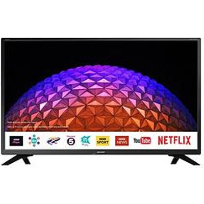Sharp Lc-32Hi5432Kf 32 Inch, Hd Ready, Freeview Play, Smart Tv