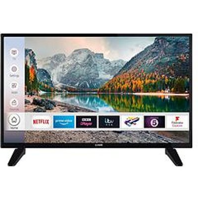 Luxor 32 Inch, Hd Ready, Freeview Play, Smart Tv With Built-In Dvd Player