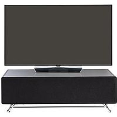 Alphason Chromium 120 Cm Concept Tv Stand - Black - Fits Up To 60 Inch Tv