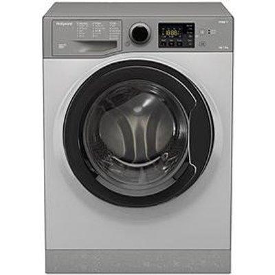 Hotpoint Aquarius Rdg9643Gkukn 9Kg Wash, 6Kg Dry, 1400 Spin Washer Dryer - Graphite