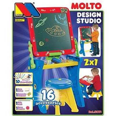 Molto 2 In 1 Easel And Desk