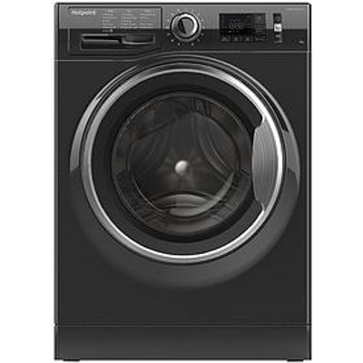 Hotpoint Active Care Nm11945Bcaukn 9Kg Load, 1400 Spin Washing Machine - Black