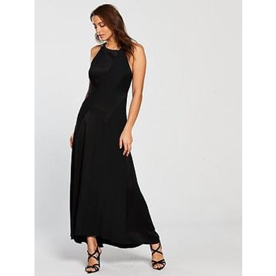 Karen Millen Body Skimming Contour Dress - Black
