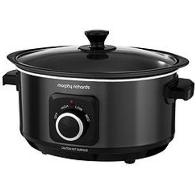 Morphy Richards Evoke 3.5-Litre Manual Slow Cooker - Black