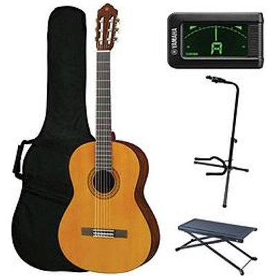 Yamaha Yamaha C40 Classical Guitar Performance Pack With Free Online Music Lessons