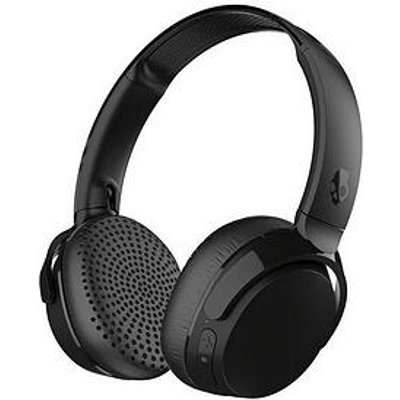 Skullcandy Riff Wireless Over-Ear Headphones With Rapid Charge, Built-In Microphone And 12 Hours Battery Life - Black
