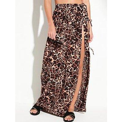 V By Very Wrap Beach Maxi Skirt