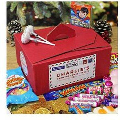 Personalised Christmas Sweet Treats Box From Santa