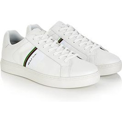 Ps Paul Smith Men'S Rex Leather Trainers - White