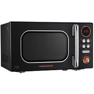 Morphy Richards 800W 20-Litre Microwave - Black Gold