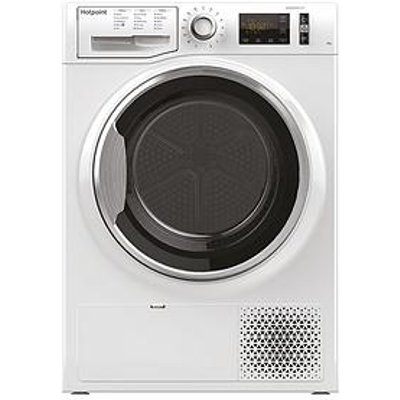 Hotpoint Activecare Ntm1182Xb 8Kg Load Heat Pump Tumble Dryer - White