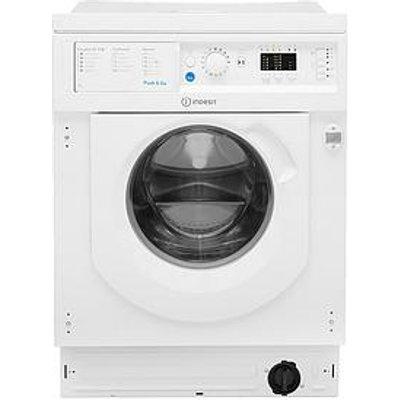 Indesit Biwmil71452 7Kg Load, 1400 Spin Washing Machine - White - Washing Machine With Installation