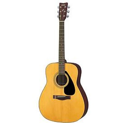 Stagg Yamaha F310 Natural Acoustic Guitar With Bag, Strings, Strap And Online Lessons