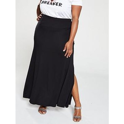 V By Very Curve Jersey Maxi Skirt
