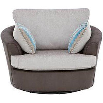 Calluna Fabric Swivel Chair