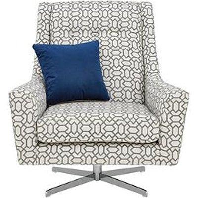Kalise Fabric Swivel Chair