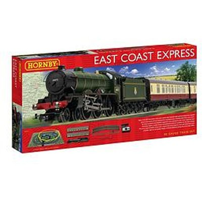 Hornby East Coast Express Train Set