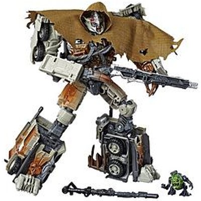 Transformers 34 Leader Class Dark Of The Moon Movie Megatron With Igor Action Figure