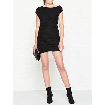 Allsaints Mae Jersey Dress - Black