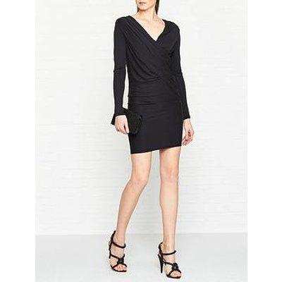 Allsaints Sofia Long Sleeve Jersey Dress - Black