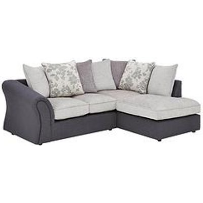Viva Fabric Compact Right Hand Scatter Back Sofa