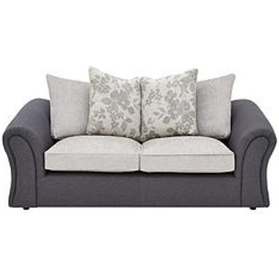 Viva Fabric Compact 3 Seater Scatter Back Sofa