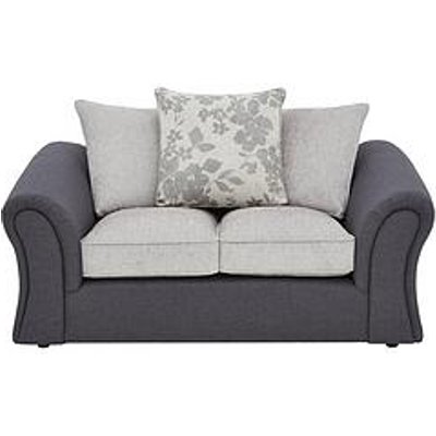 Viva Fabric Compact 2 Seater Scatter Back Sofa