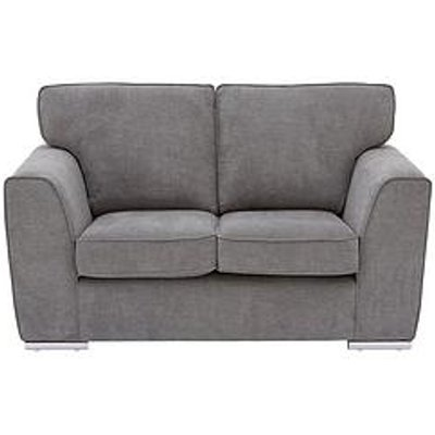 Martine Fabric 2 Seater Sofa - Charcoal
