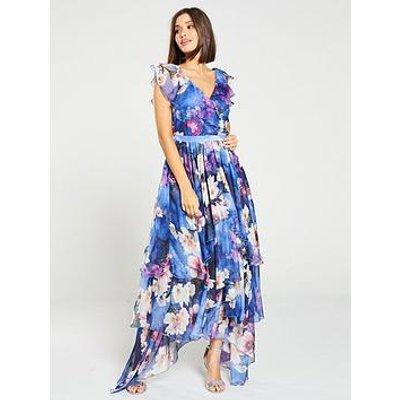 Y.A.S Pallida Hankey Hem Printed Tea Dress - Multi