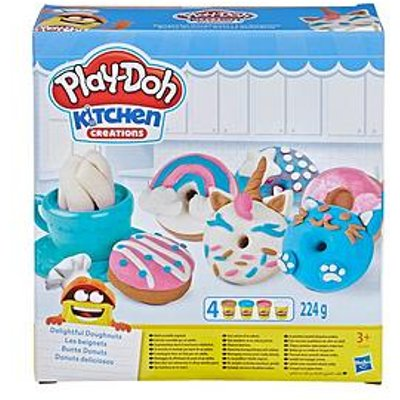 Play-Doh Kitchen Creations Delightful Donuts Set With 4 Colours