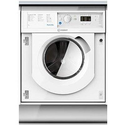 Indesit Biwmil71252 7Kg Load, 1200 Spin Washing Machine - White - Washing Machine Only