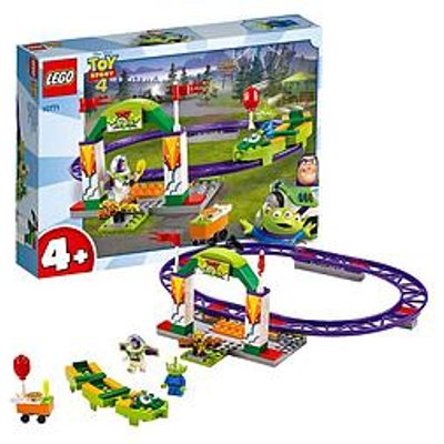 Lego Juniors 10771 Toy Story 4 Rollercoaster Playset