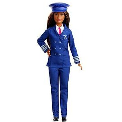 Barbie I Can Be A Pilot - 60Th Career Pilot Doll