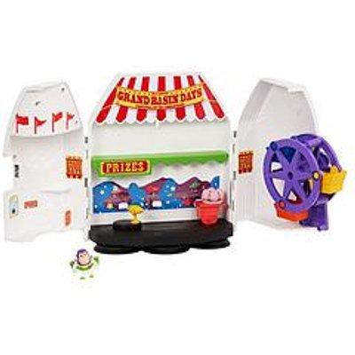 Toy Story Minis Buzz Lightyear&Rsquo;S Star Adventurer Playset
