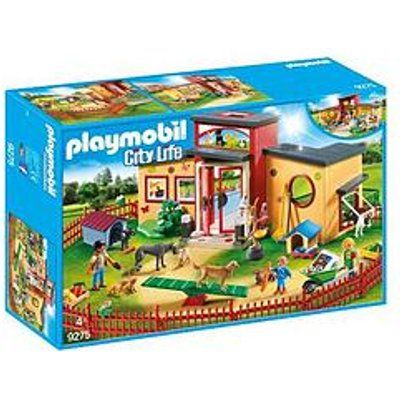 Playmobil Playmobil 9275 City Life Tiny Paws Pet Hotel With Flexible Outdoor Fence